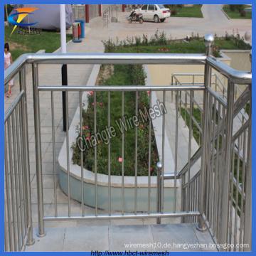 Edelstahlrohr Treppenzaun