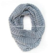 Acrílico malha lenço pescoço aquecedor