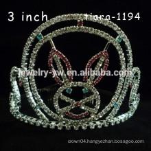 hair accessories hair crown crystal animal rabbit ears headband