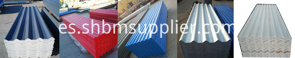 Low Cost Sound Insulation MgO Roofing Tiles