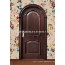 Arch wood door designs