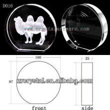 Imagem de sub-superfície de laser K9 3D dentro do disco de cristal