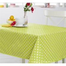 Neu gestaltete freundliche PVC gedruckt Muster Tischdecke Stoff Unterstützung