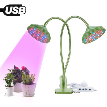 Abrazadera Lotus Seedpod led Clip grow light 20w