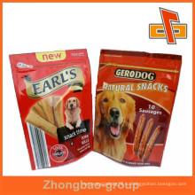 Высокое качество и нестандартная печать встают на молнию для корма для собак, для сосисок или закусок