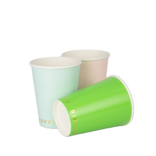 Manufacture price customize logo design hot paper cup for tea and coffee paper tea cup