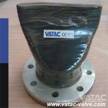 Обратный клапан с фланцем из закаленной стали