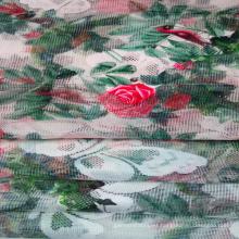Impreso de encaje / tela de malla para prendas de vestir y Textiles para el hogar
