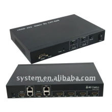 HDMI 4X2 Matrix de CAT-5e / 6