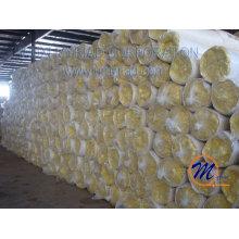 Couverture en laine de verre face à l'aluminium