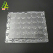 Emballage de récipient d'oeufs de caille en plastique de 30 cellules d'ANIMAL FAMILIER