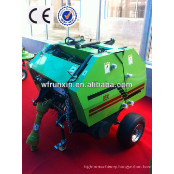 CE approved rhb 0850/0870 mini round hay balers for sale