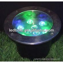 Hot sale led RGB underground lights 9W IP68