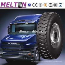 Neumático para camiones pesados marca Melton 315 / 70R22.5 315 / 80R22.5 12R22.5 13R22.5