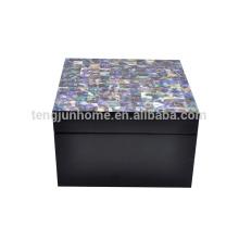 New zealand paua shell multi-drawer jewelry box