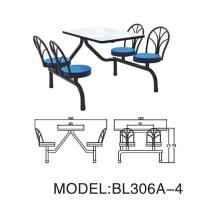 Heißer Verkaufs-Speisetisch-Stuhl Bl306A-4