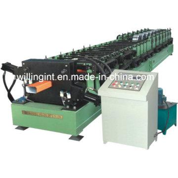 Fallrohr-Regenrinnen-Rollformmaschine