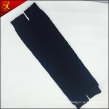Jambières en tricot hiver noir