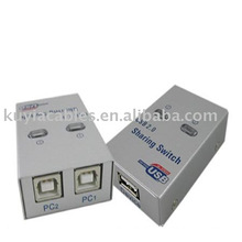 USB 2.0 Sharing Switch USB Switch 2 PC to 1 Printer/Scanner