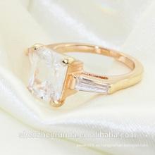 Joyería de los anillos de compromiso del solitario del diamante de la manera 2014
