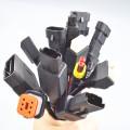 O automóvel impermeável fêmea 7pin Overmolded o conector do automóvel