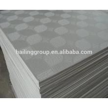 Tablero de yeso laminado de PVC