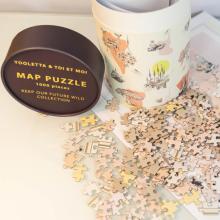 Papierröhrenverpackung für Puzzles