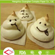 El papel de pergamino de 4 pulgadas ajusta la hoja de papel humedecedor de alimentos antiadherente