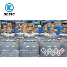 Wholesale High Quality 40L Empty Seamless Steel Argon Gas Bottle
