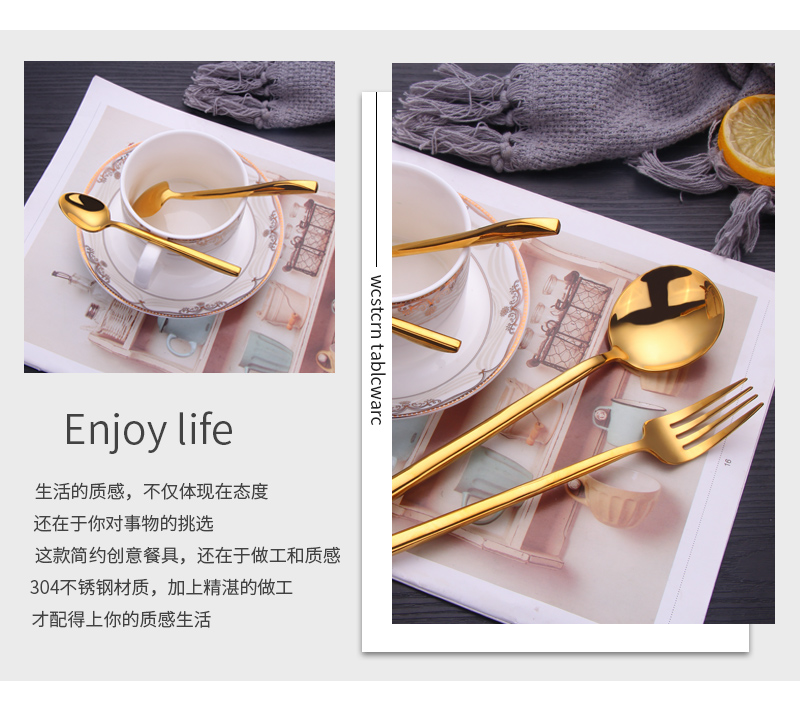 Hotel Cutlery Gold For Events