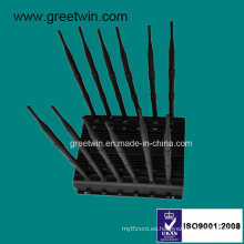 WiFi Jamer / Jammer de control remoto / 2g 3G 4G bloqueador (GW-JA12)