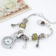 Relógio de jóias de venda quente para mulheres