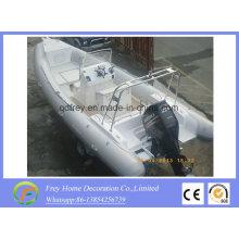 Barco deportivo de fibra de vidrio de 6,8 m Ce, barco de pesca