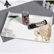 (BC-TM1007) Hot-Sell High Quality Reusable Colorful Melamine Tray