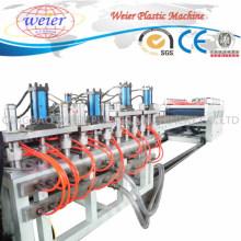 Esfolando a linha de produção plástica da máquina da extrusora da placa da espuma