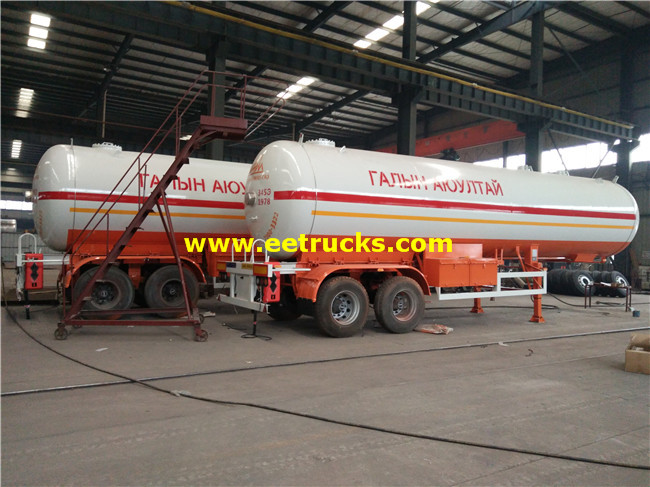 40cbm 20ton LPG Transportaion Trailers