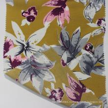 100% вискозная ткань с цифровой печатью для платьев