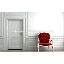 NOVO PROJETO Porta de interior lacada branca moldada de luxo