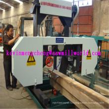 Портативный ленточнопильный резки Цена машины Mj1000 горизонтальный Ленточнопильный станок для древесины