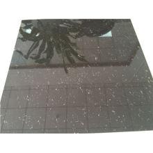 Super Black Polished Porcelain Floor Tiles