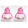250ml Food Grade E Eco-Friendly OEM Kids Plastic Bottle Fabricante