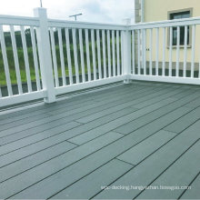 Outdoor Home and Garden Patio Easy Installation Customized Size Composite Wood WPC Railing