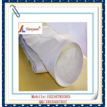 Bolsa de filtro de fibra de vidrio E-PTFE de alta temperatura libre de álcali para la planta de energía