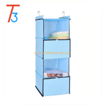 Super Sturdy Hanging Clothing Accessory Shelves With Lid, hanging sweater, clothes shoes organizer