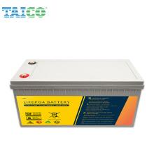 China Factory Long lifePO4 Deep Cycle 12.8V 300AH Lithium Ion Lifepo4 Battery Pack