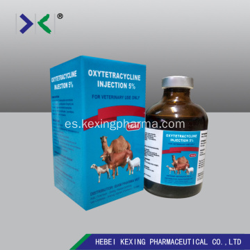 Animal Oxytetracycline 5% Inyección