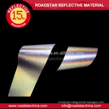 EN471 high silver 100% polyester reflective tape