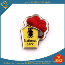 Nationalpark Pin Badge aus Edelstahl mit Epoxy