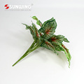 hot selling greenery plastic fire retardant leaf for mall decoration