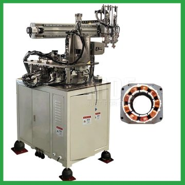 1100 rpm BLDC stator three needles coil winding machine